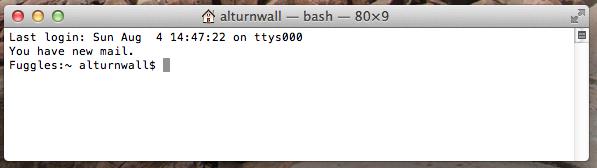 Show hidden files (like htaccess) in Mac OS X | Alex Turnwall