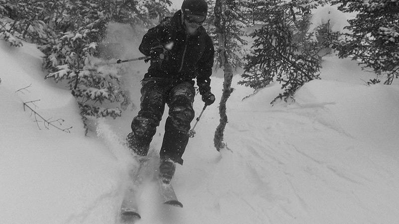 Skiing Mt. Katahdin